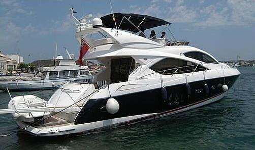 man - Sunseeker Manhattan 60 FLY