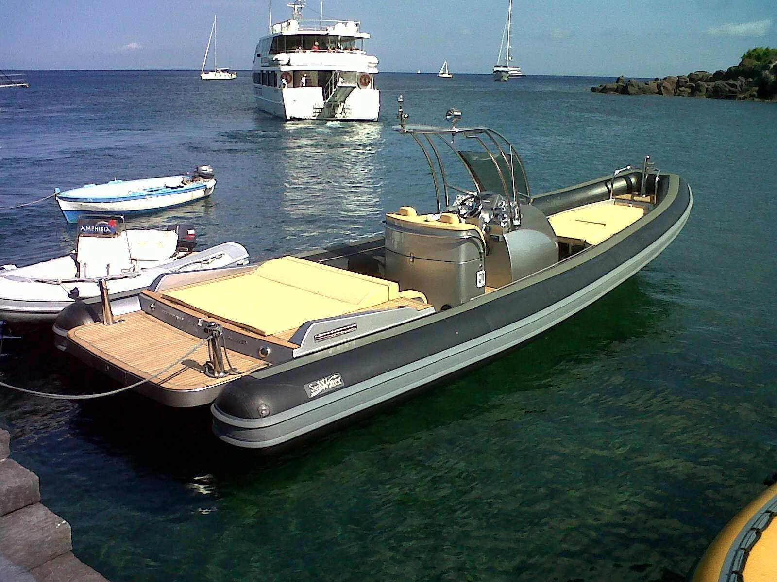 SEA WATER Smeralda Rib 350 EFB